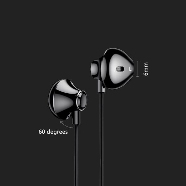 In Ear Heavy Subwoofer Stereo Music Phone Headphone With Microphone BTE12_6