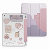 Protective Painted 2018 iPad Cover iPad Pro 12.9 10.5 9.7 Cover With Pen Slot IPPC08