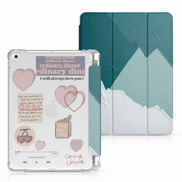 Protective Painted 2018 iPad Cover iPad Pro 12.9 10.5 9.7 Cover With Pen Slot IPPC08_2