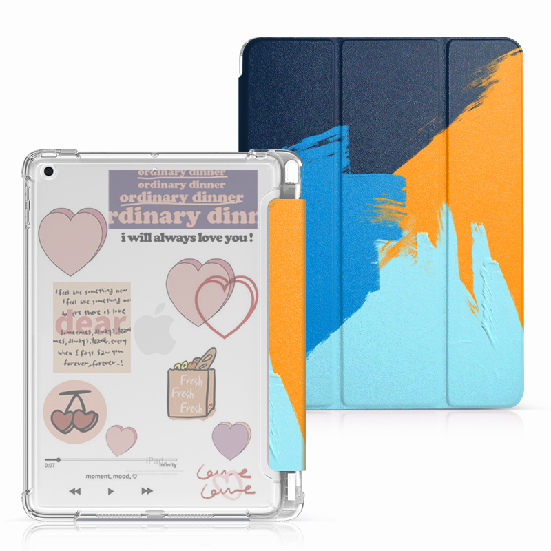 Protective Painted 2018 iPad Cover iPad Pro 12.9 10.5 9.7 Cover With Pen Slot IPPC08_3
