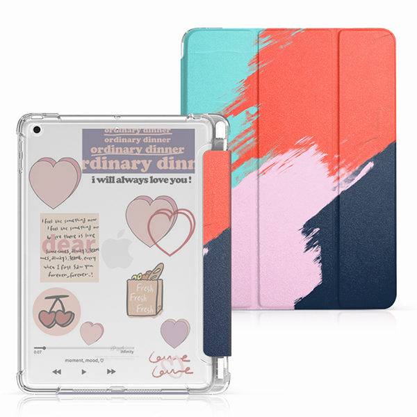Protective Painted 2018 iPad Cover iPad Pro 12.9 10.5 9.7 Cover With Pen Slot IPPC08_4