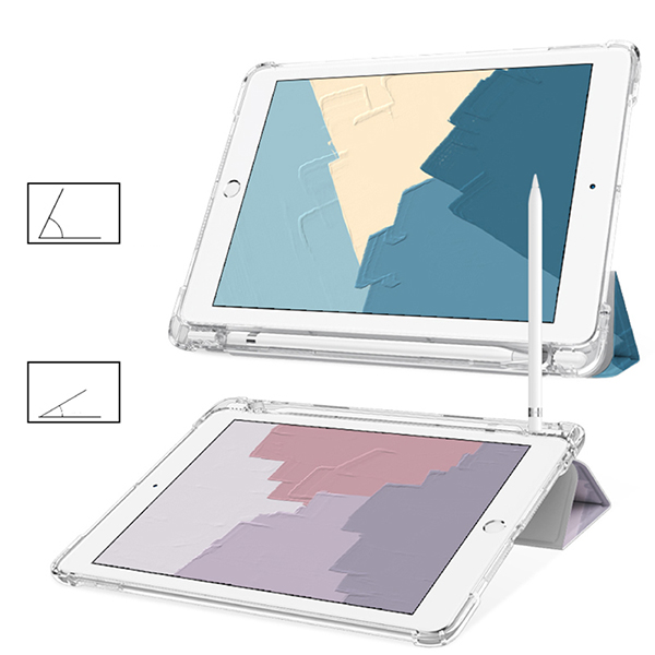Protective Painted 2018 iPad Cover iPad Pro 12.9 10.5 9.7 Cover With Pen Slot IPPC08_5