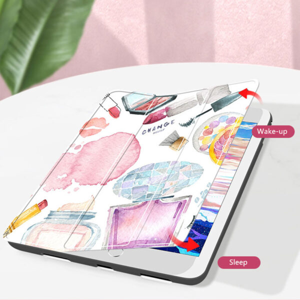 Protective Painted 2018 iPad Pro 12.9 Inch 3rd Generation Cover With Pen Slot IPPC08_9