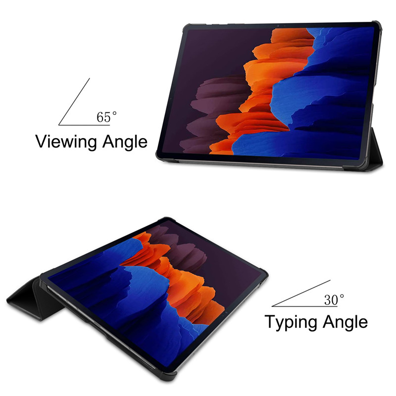 Best Leather Samsung Galaxy Tab S7 And Plus Cover SGTC07_6