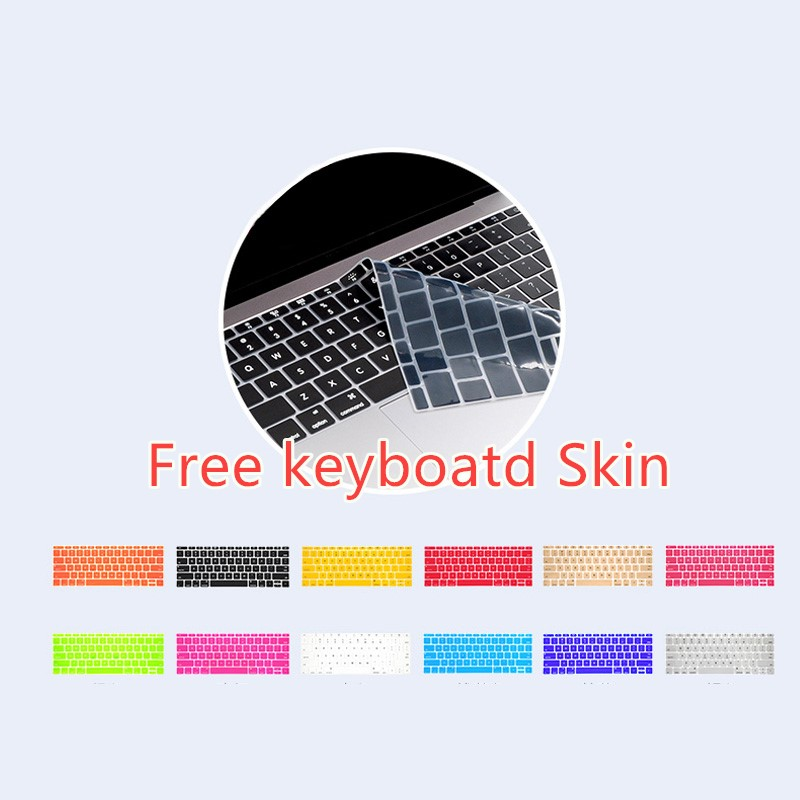 British Style Protective Cover For Macbook Air 11 13 Pro 13 15 Touch With Keyboard Skin MBPA11_8