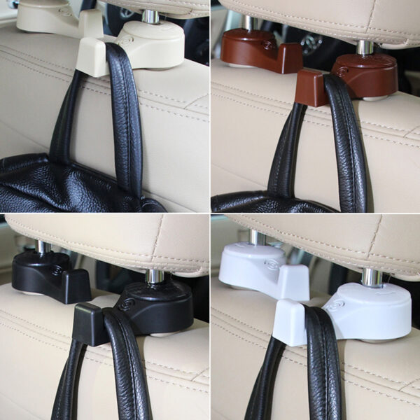 Creative Car Seat Back Hidden Multi-function Small Hook IPS12_7