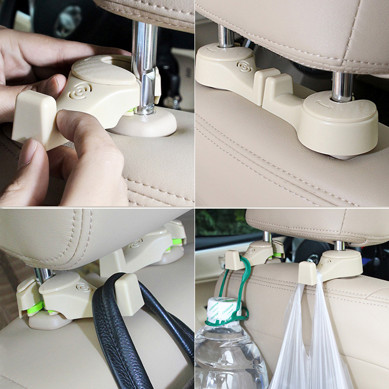 Creative Car Seat Back Hidden Multi-function Small Hook IPS12_8