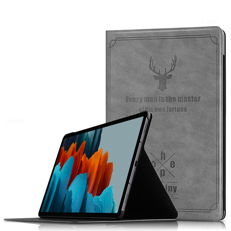 Painted Protective Samsung Tab S4 10.5 Inch Leather Cover SGTC08