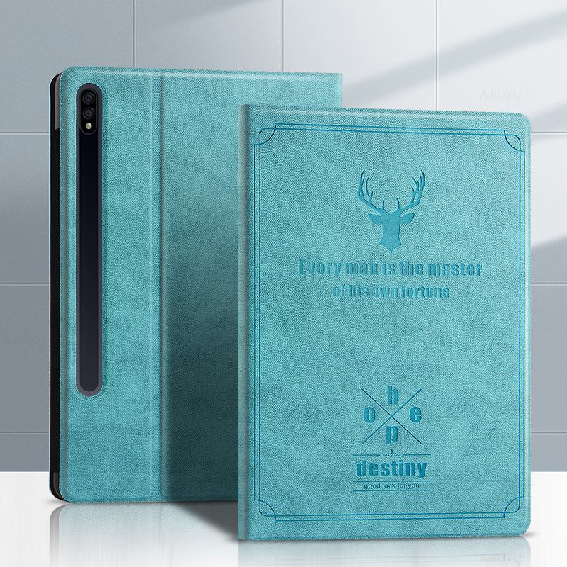 Painted Leather Samsung Tab S7 11 Inch Leather Cover SGTC08_2