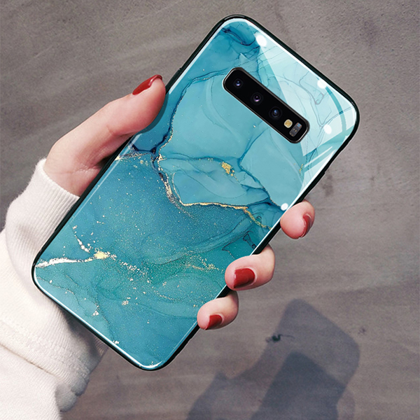 Perfect Marble Case For Samsumng S10 9 8 Note 9 8 SGN905_3