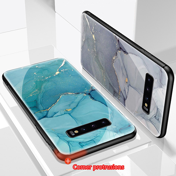 Perfect Marble Case For Samsumng S10 9 8 Note 9 8 SGN905_5