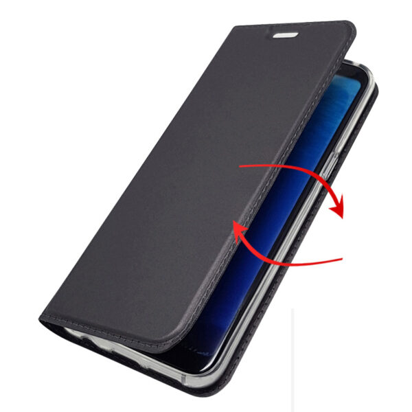 Perfect Clamshell Leather Case For Samsung Note 9 8 SGN904_5