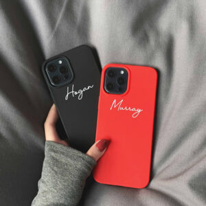 Customize Name Letter Case Cover For iPhone 12 Mini Pro Max IPXSM04