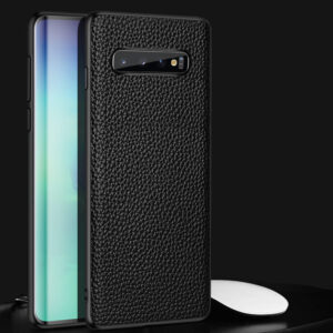 Real Leather Protective Samsung Note 10 S9 S8 Plus Case SGN903