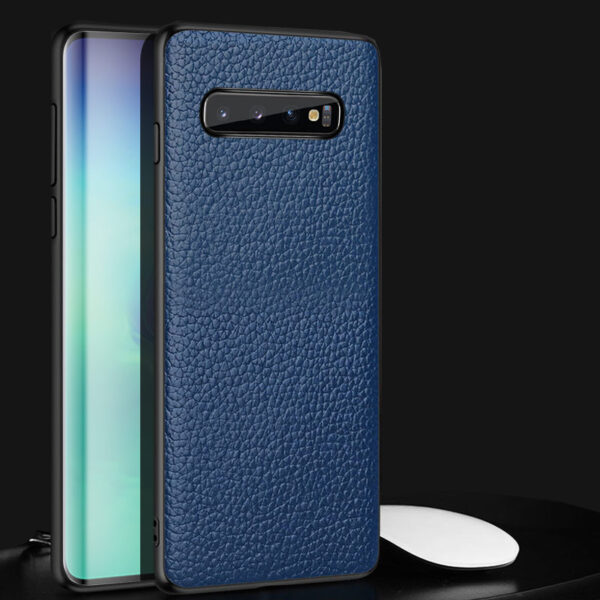 Real Leather Protective Samsung Note 9 Case Cover SGN903_2