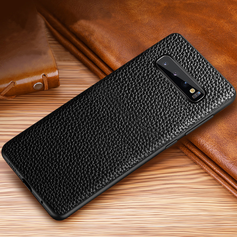 Real Leather Protective Samsung Note 9 Case Cover SGN903_3