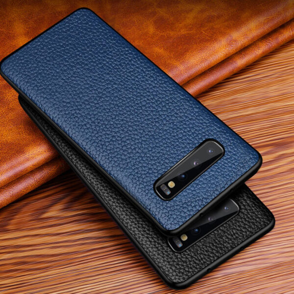 Real Leather Protective Samsung Note 9 Case Cover SGN903_4