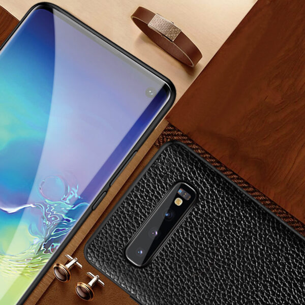 Real Leather Protective Samsung Note 9 Case Cover SGN903_5