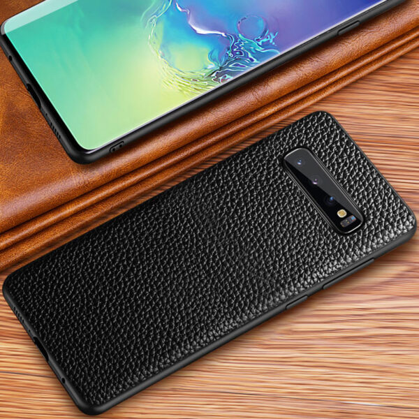 Real Leather Protective Samsung Note 10 S9 S8 Plus Case SGN903_8