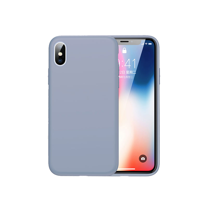 iphone xs ultra slim silicone case