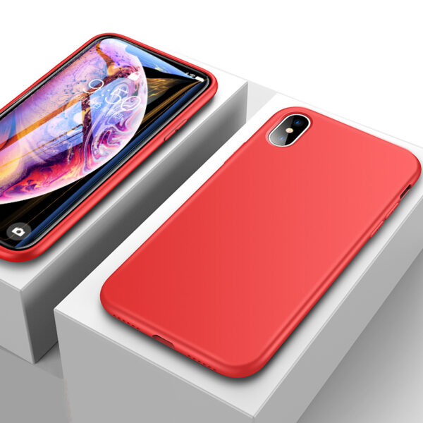 Ultra Thin All-inclusive iPhone X XS XR Max Silicone Case IPXSM01_3