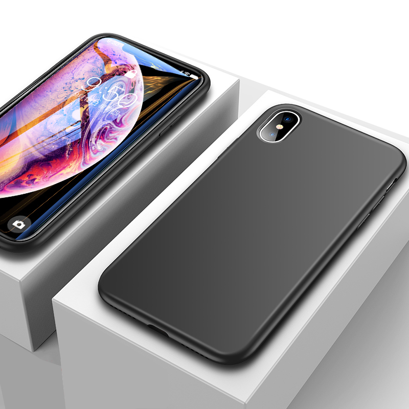 Ultra Thin All-inclusive iPhone X XS XR Max Silicone Case IPXSM01_4