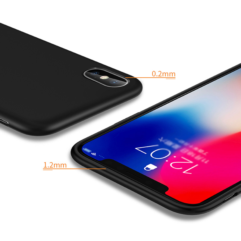 Ultra Thin All-inclusive iPhone X XS XR Max Silicone Case IPXSM01_5