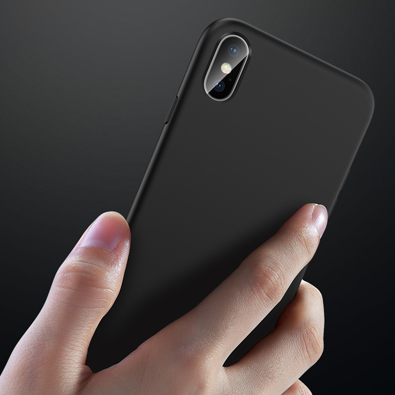 Ultra Thin All-inclusive iPhone X XS XR Max Silicone Case IPXSM01_6