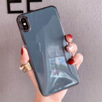 Embossed Pattern iPhone X XS MAX Case With Lanyard IPXSM05