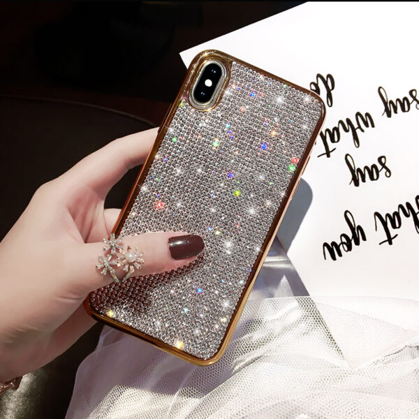 Glitter Diamond Silicone Case For iPhone X XR XS Max IPXSM06_2