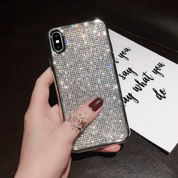 Glitter Diamond Silicone Case For iPhone X XR XS Max IPXSM06_3