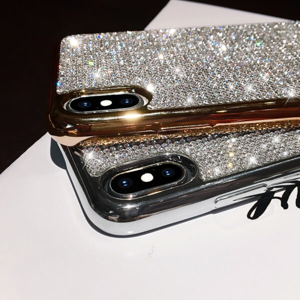 Glitter Diamond Silicone Case For iPhone X XR XS Max IPXSM06_4