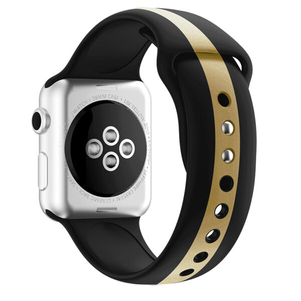 Silicone 38 40 42 44 MM Band Strap For Apple Watch AWB11