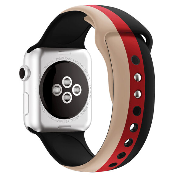 Silicone 38 40 42 44 MM Band Strap For Apple Watch AWB11_5