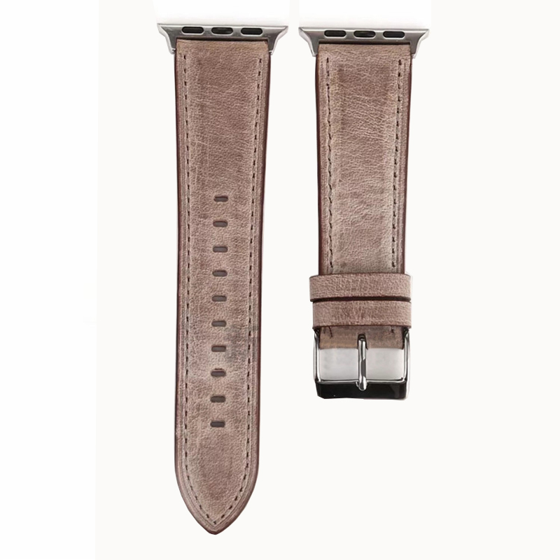 Leather 38 40 42 44 MM Band Strap For Apple Watch AWB11_7