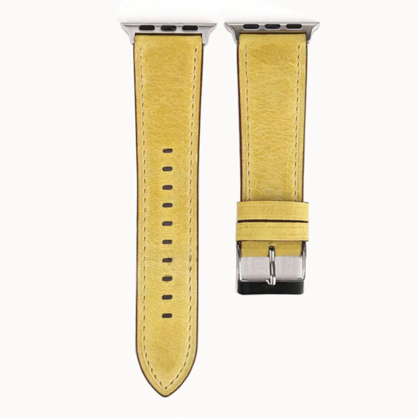 Leather 38 40 42 44 MM Band Strap For Apple Watch AWB11_8