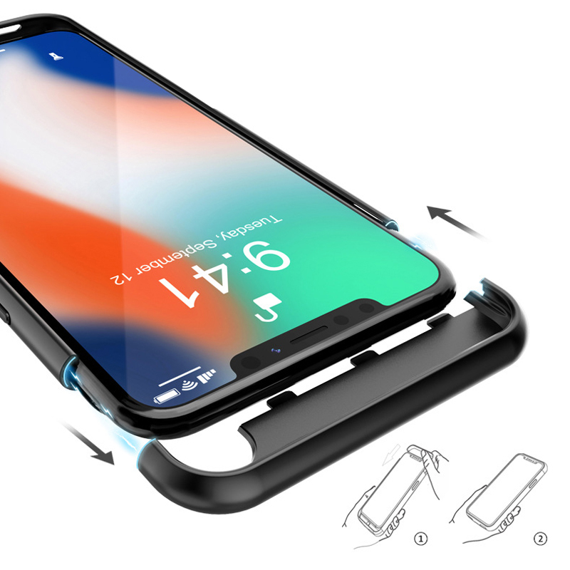 Perfect Thin 5000mAh Charger Case For iPhone XS Max XR IPGC14_6