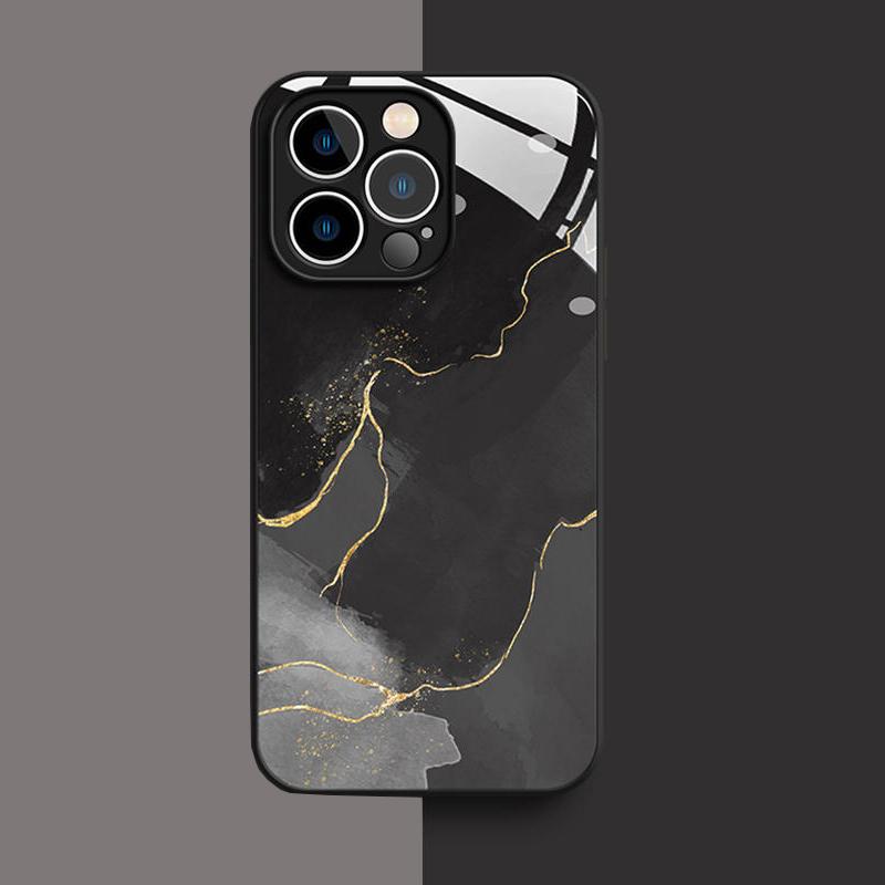 Creative All-inclusive Marble iPhone 12 11 Pro XS 7 8 Plus Case IPXSM07