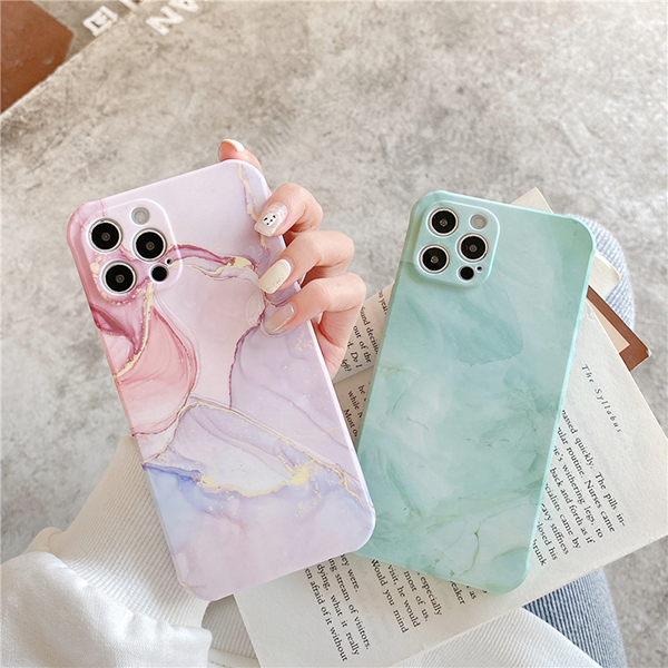 Creative All-inclusive Marble iPhone 7 8 X XR XS Max Silicone Case Cover IPXSM07_3