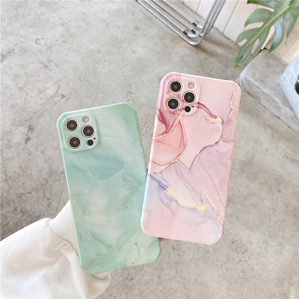 Creative All-inclusive Marble iPhone 7 8 X XR XS Max Silicone Case Cover IPXSM07_4