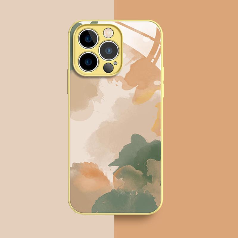 Creative All-inclusive Marble iPhone 12 11 Pro XS 7 8 Plus Case IPXSM07_4
