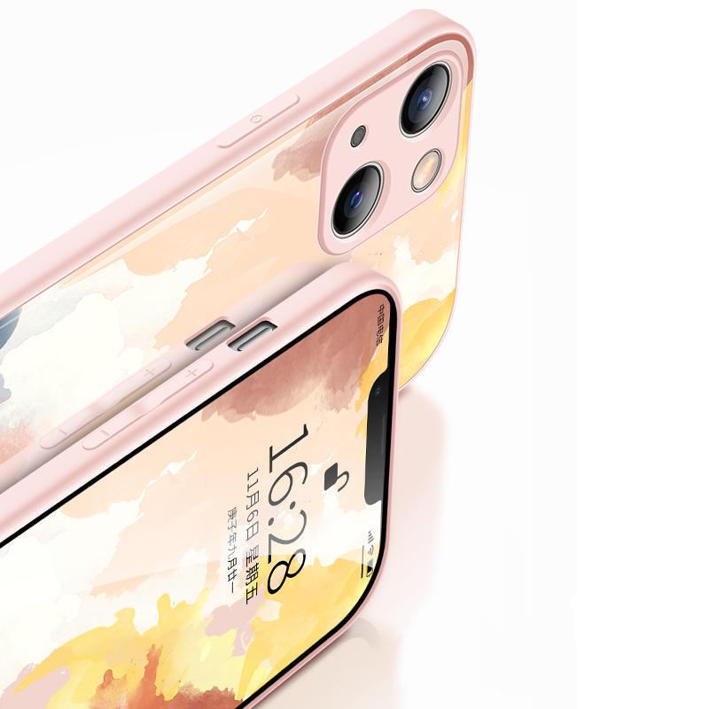 Creative All-inclusive Marble iPhone 12 11 Pro XS 7 8 Plus Case IPXSM07_5