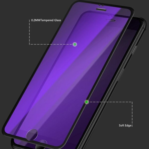 3D Anti-blue Full Screen Protector Tempered Film For iPhone XS XR Max IPASP11