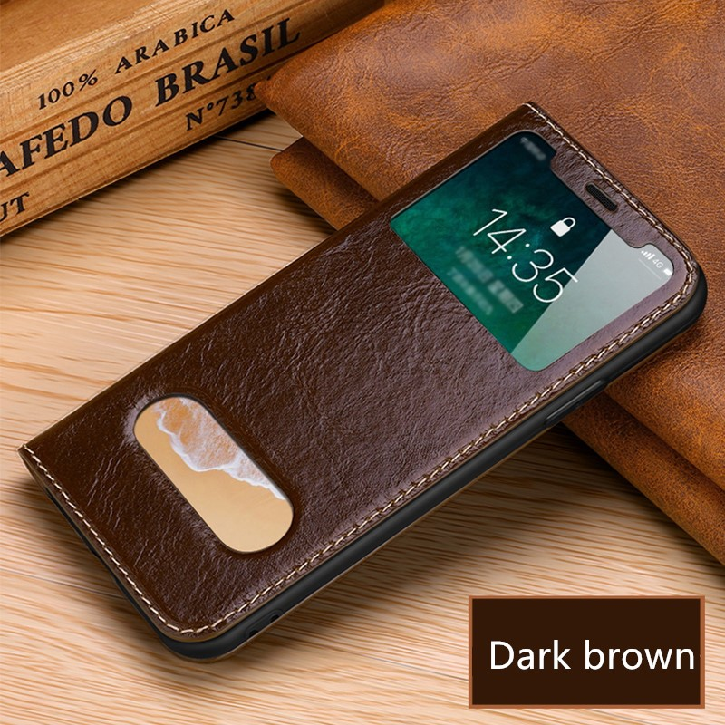 Protective Leather Case Cover For iPhone XS X And Max IPXSM08_3
