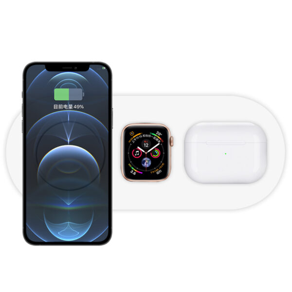 Wireless Charger For Apple Watch iPhone AirPods ICD09_3