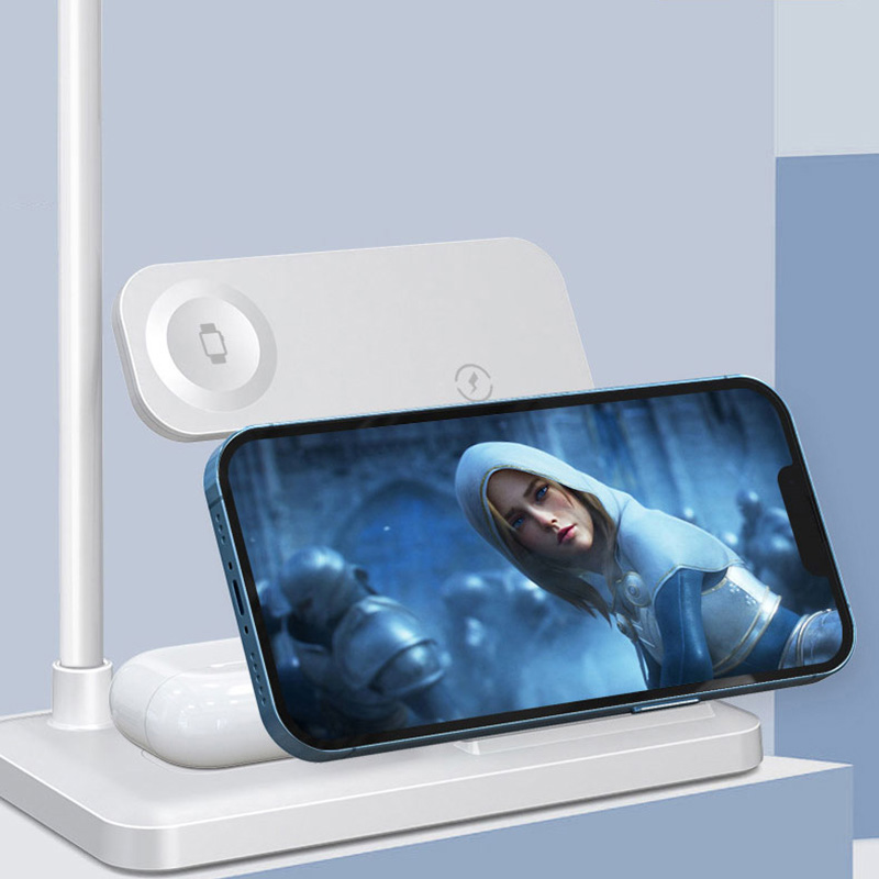 Wireless Charger For Apple Watch And iPhone Android Phone ICD09_3