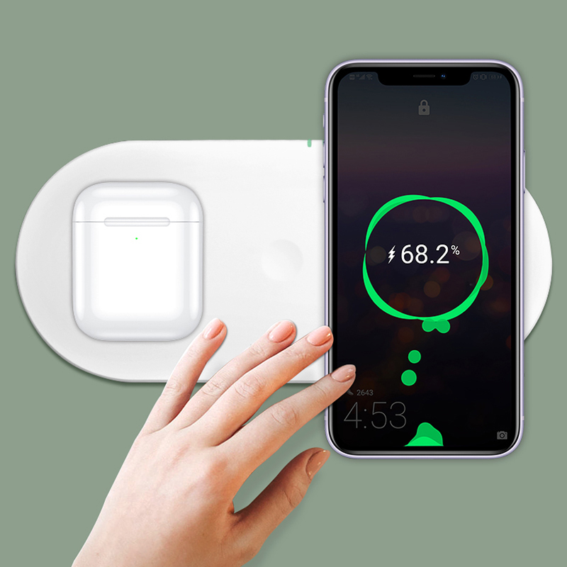 Wireless Charger For Apple Watch And iPhone Android Phone ICD09_5