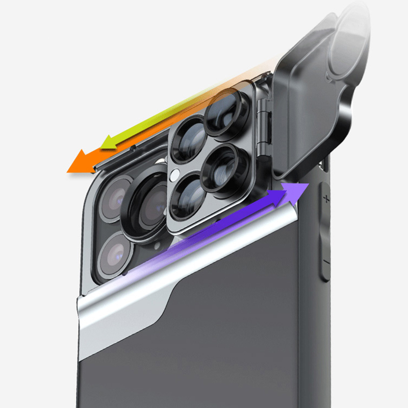 6 Functional Lens In One Case Cover For iPhone XS XR Max PHE10_8
