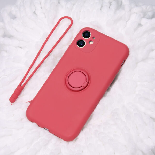 Heart Shape Plush Silicone Cover Case For iPhone XS XR Max IPXSM09_3