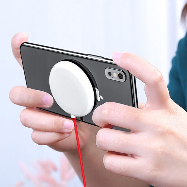 Suction Cup Wireless Charger For iPhone Samsung Android Phone ICD10_3